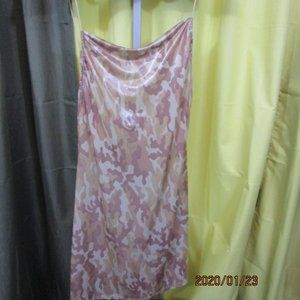 Beware Camouflage Dress Size XL